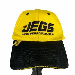 Jegs High Performance Racing Gear Yellow Hat Cap